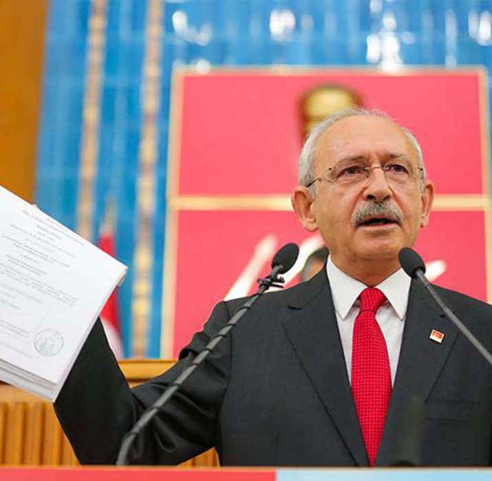 Main opposition CHP head says Erdoğan's relatives sent millions of dollars to foreign company