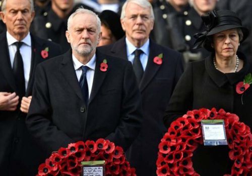 Remembrance Sunday: UK events mark the nation's war dead