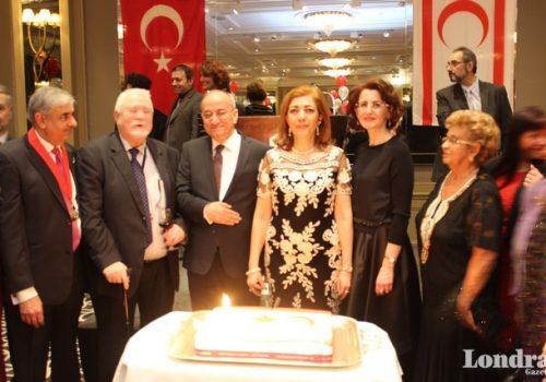 London celebrated North Cyprus's anniversary