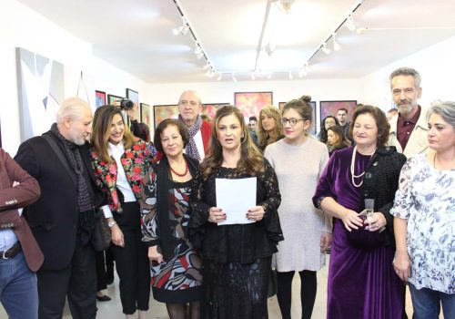 Works of Turkish artists exhibited in London