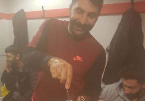 Kaptan Mehmet Ali'ye doğum günü