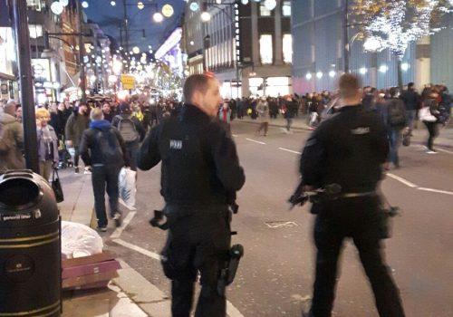 Son dakika: Oxford Circus'ta terör paniği