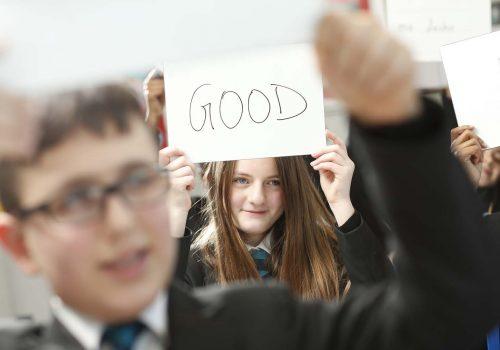 Park View Okulu başarısını kutluyor