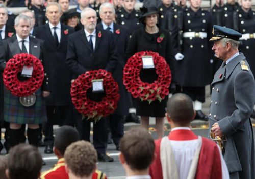 Remembrance Sunday Ceremony in England