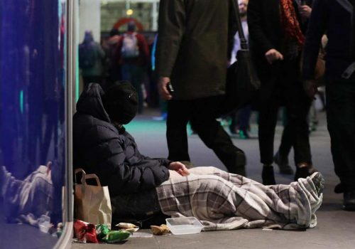 Rise in homelessness in Haringey and Enfield
