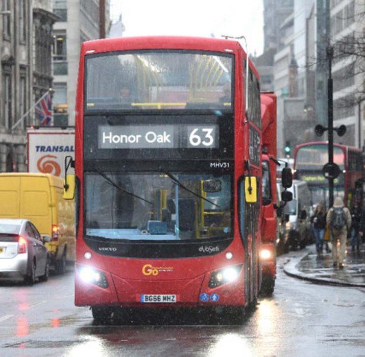 Otobüslere kahveli biyoyakıt