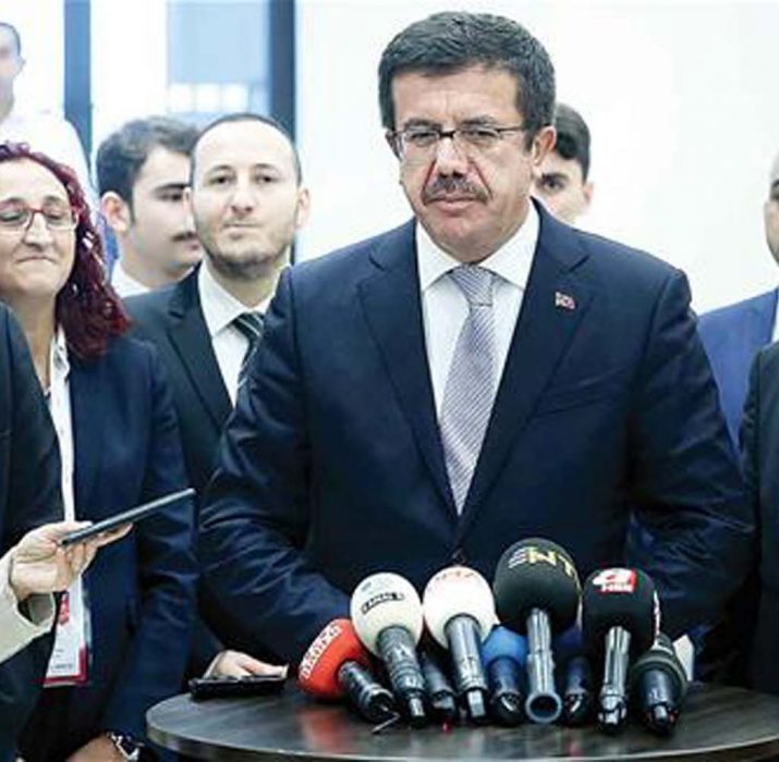 Turkish minister repeats call for updating customs union deal