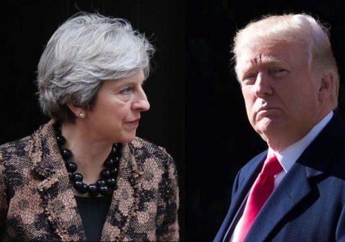 Başbakan May: Trump'ın kullandığı dil kesinlikle kabul edilemez