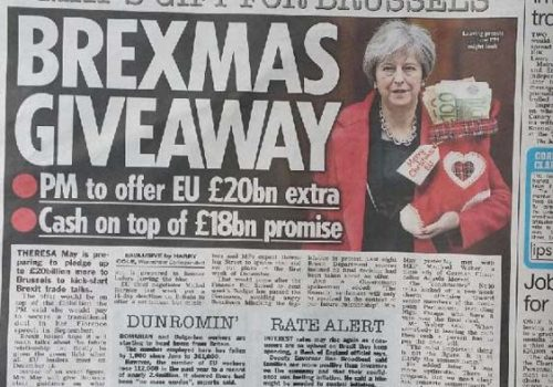 The Sun: İngiltere'nin Brexit faturası 20 milyar sterlin artacak