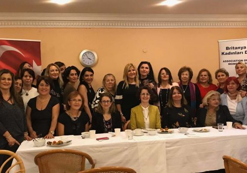 ATWGB members came together for tea