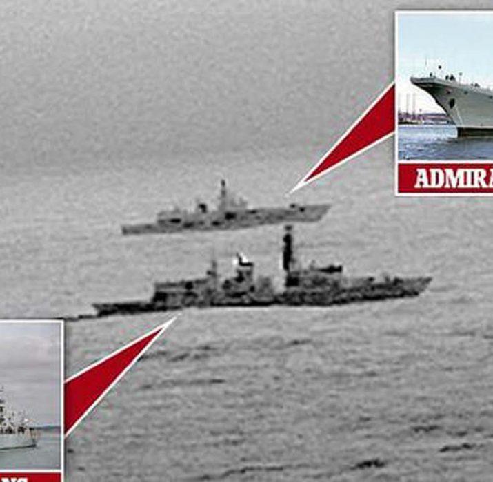 Rus gemisi İngiltere sularında