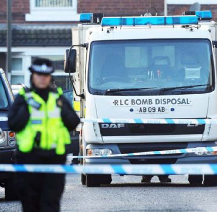 Sheffield arrests over 'alleged UK Christmas terror plot'