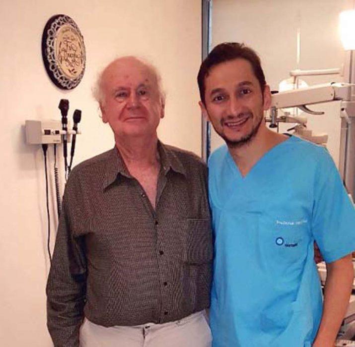 Görme kaybı yaşayan İngiliz, Türkiye'de şifa buldu