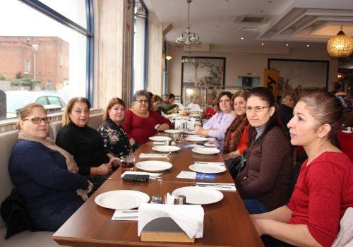 Engelliler Derneği'nden kahvaltı organizasyonu