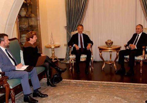 Cumhurbaşkanı Akıncı, ABD Dışişleri yetkilisi Cohen'i kabul etti