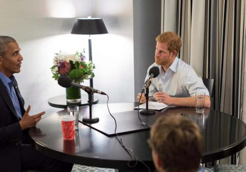 Prens Harry Obama ile röportaj yaptı
