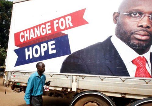 Chelsea'nın eski yıldızı Liberya'nın yeni Devlet Başkanı seçildi