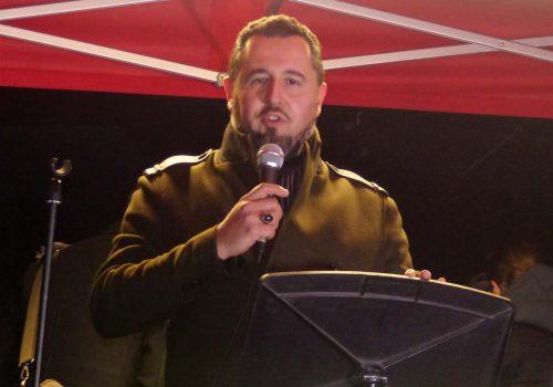 Milli Görüş protested against the US in London