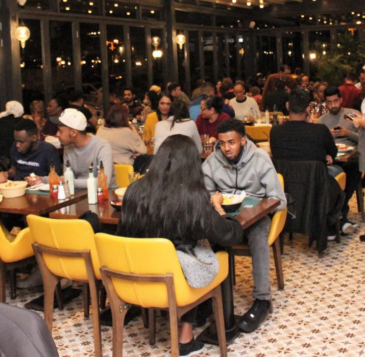 Londra'nın lezzet durağı: Gökyüzü Restaurant