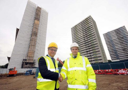 Enfield Council to fit sprinklers in high-rise tower blocks