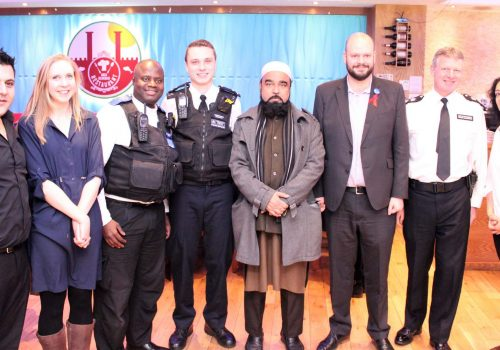 Traditional Christmas breakfast held by Hackney Police