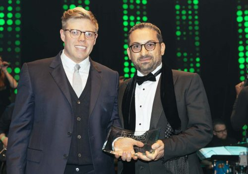 Aykut Sadi wins Project Excellence award
