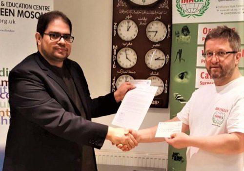 IHH UK helped for Rohingya