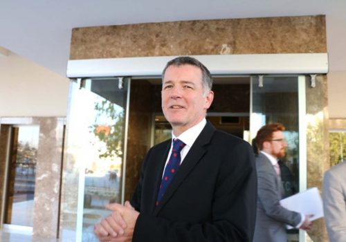 İngiltere Büyükelçisi'nden veda ziyaretleri