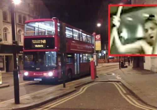 Kuzey Londra'da otobüste seks!