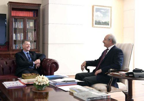 Büyükelçi Moore'dan Kılıçdaroğlu'na veda ziyareti