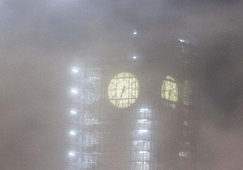 İngiltere'de yoğun sis