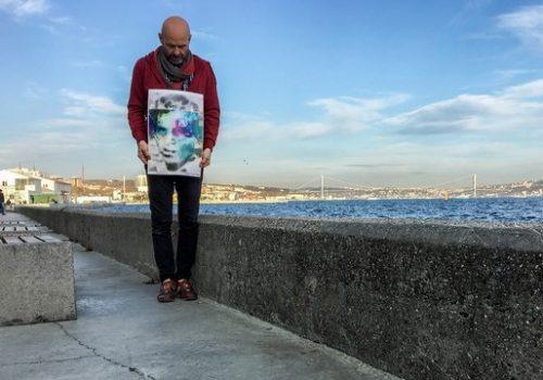 Sümer Erek, Muharrem Özdemir'i sanat performansları ile andı