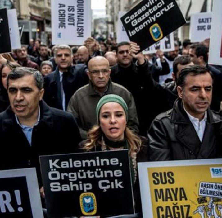 Türkiye, gazeteciler için dünyanın en büyük hapishanesi