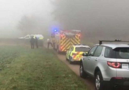 İngiltere'de uçak kazası