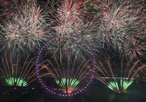 İngiltere 2018'e 'Merhaba' dedi