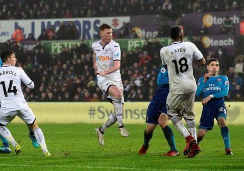 Arsenal, Swansea'de kayıp