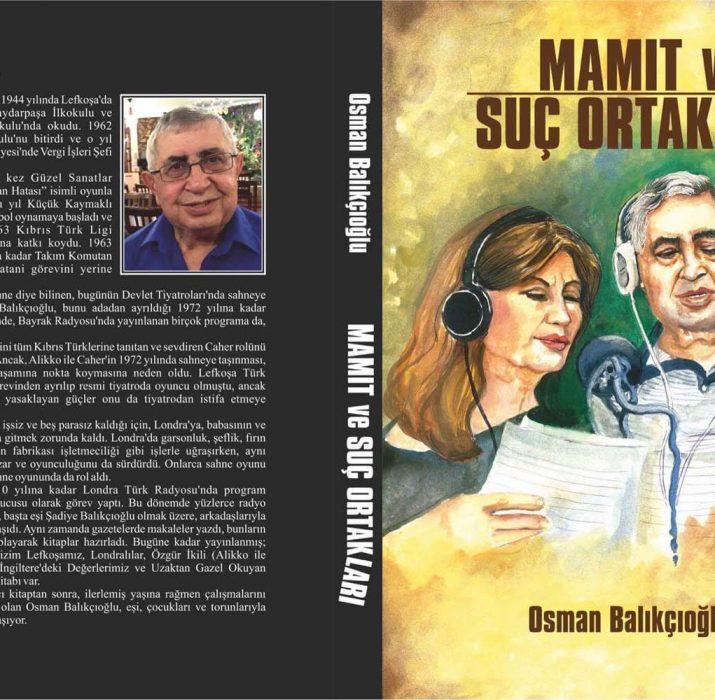 Balıkçıoğlu'nun yeni kitabı: Mamıt ve Suç Ortakları