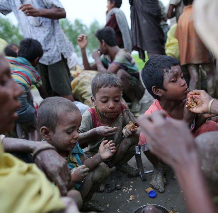 Charity bazaar for Arakan