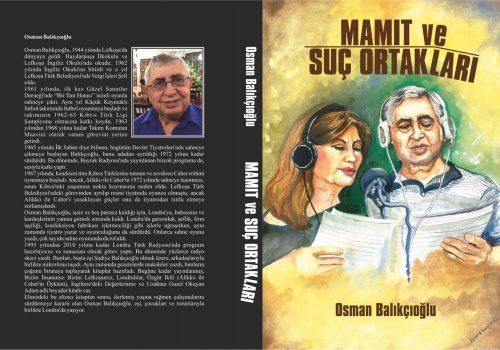 Balıkçıoğlu's new book: Mamıt and Crime Partners