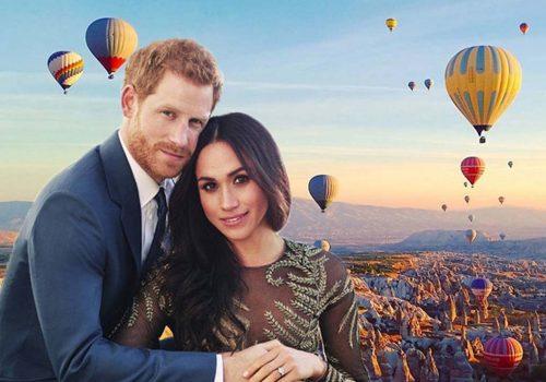 Prince Harry and Meghan Markles honeymoon might be Cappadocia