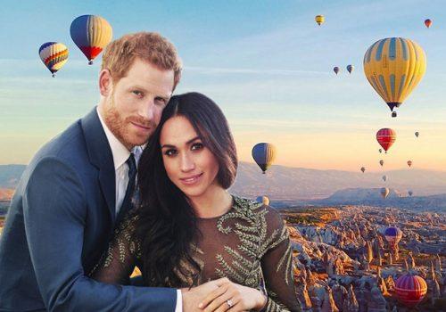 Prens Harry ve Meghan'ın balayı seçenekleri arasında Kapadokya da var