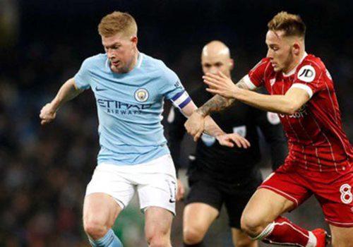 Manchester City tur için avantaj sağladı