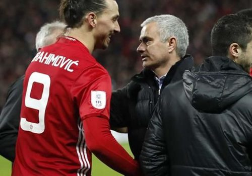 İbrahimovic'e Mourinho'dan destek