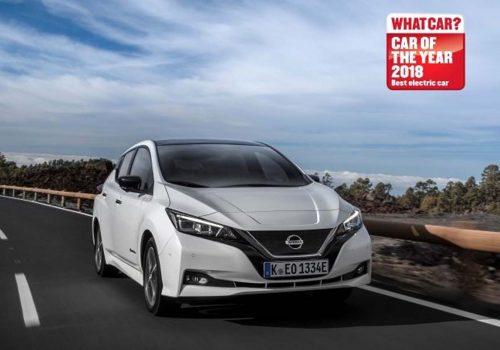 Nissan Leaf 2018 yılının en iyi elektrikli otomobili seçildi