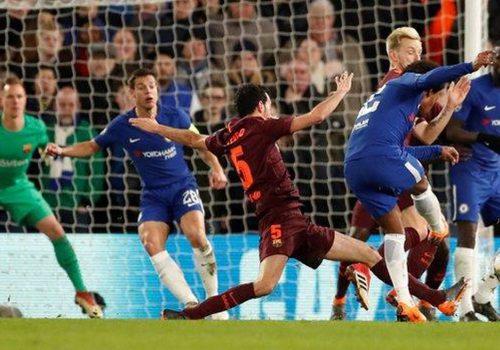 Chelsea ile Barcelona 1-1 berabere kaldı