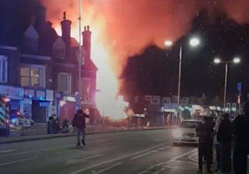 Leicester'daki patlamada 6 kişi yaralandı