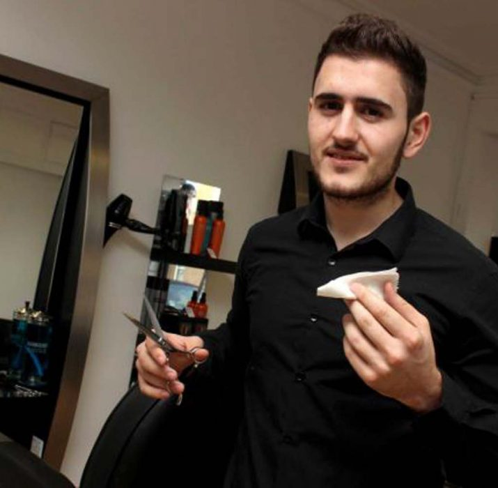 Turkish Cypriot facing razor sharp competition to become best in Britain