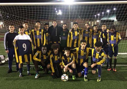 Brimsdown FC,  gençlerde galip