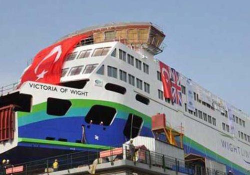 İngiltere'ye 35 milyon euroluk feribot