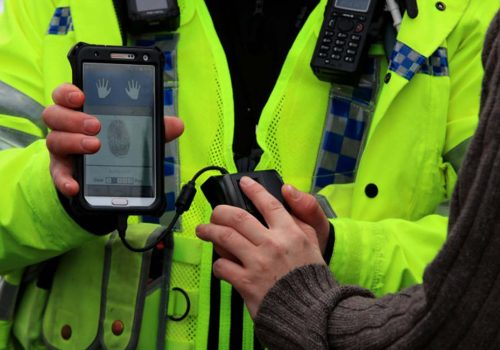 New fingerprint scanners identify suspects in 60 seconds